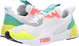 Puma White/Blue Turquoise/Nrgy Red/Castle
