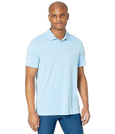 adidas Golf Performance Primegreen Polo Shirt (Sky) Men