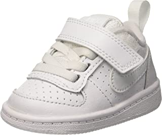 Nike 耐克 COURT BOROUGH 低 (tdv) 运动鞋孩子白色–白色/白色)