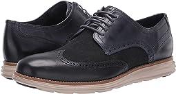 Ombre Blue Leather/Denim/Cobblestone