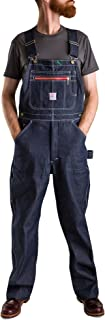 Pointer Brand Rigid Indigo Low Back Overall - Zipper Bib
