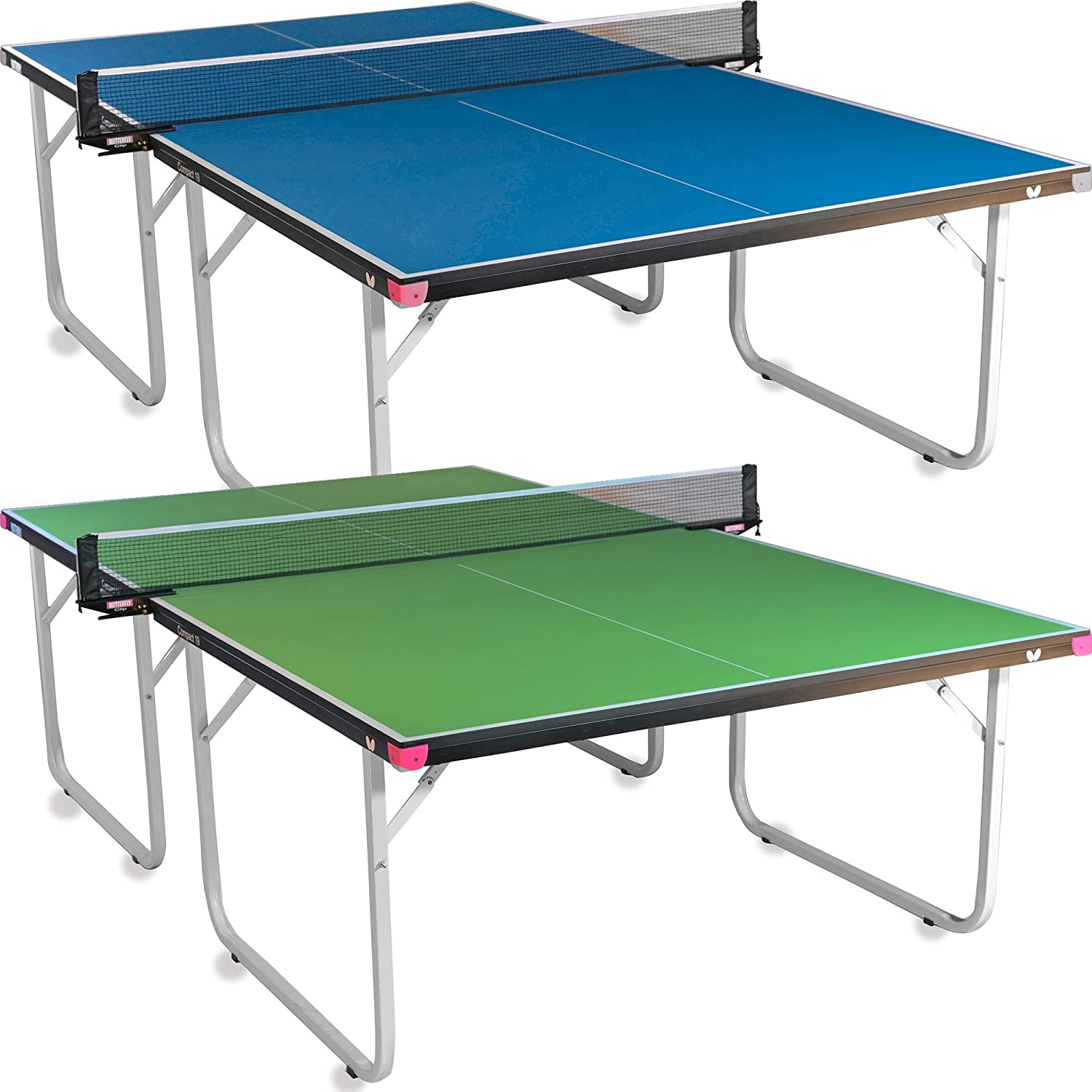 Butterfly Compact Large-scale sale 19 Ping Pong Table Foldable Tab mart Tennis