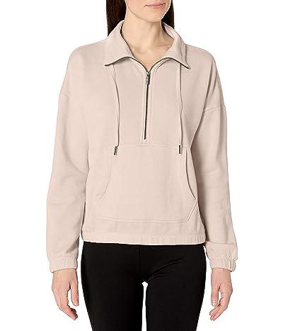 Calvin Klein Long Sleeve Drop Shoulder Half Zip Pullover