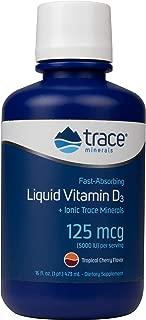 Trace Minerals Liquid Vitamin D3, 16-Ounce