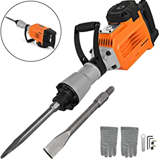 Mophorn 3600W Electric Demolition Hammer Heavy Duty Concrete Breaker 1800 RPM Jack Hammer..