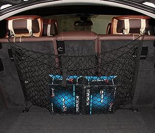 JessicaAlba 4 Hook Adjustable Storage Net Fit Toyota Land Cruiser 4Runner Avalon Camry Corolla FJ Cruiser Highlander RAV4