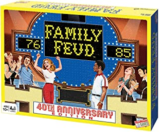 Endless Games Family Feud 40th Anniversary Retro Edition Board Game