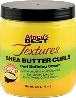 Africa's Best Textures Shea Butter Hair Curl Defining Crème, 15 Ounce