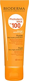 Bioderma Photoderm Max Fluid SPF 100 Face & Body Sunscreen, 40 ml