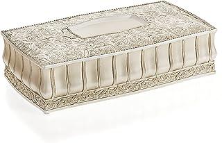 Creative Scents Victoria Tissue Box Cover Rectangular (10.5 x 6.3 x 3.8) ? Decorative Bath Tissues Paper Cover - Rectangle...