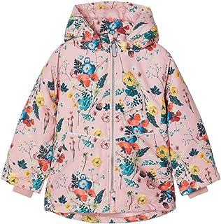 NAME IT Nmfmaxi Jacket Flowerfield Chaqueta Acolchada para Niñas