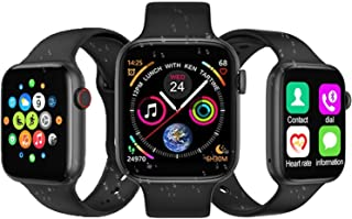 Smart Watch Large Full Touch Screen Fitness Tracker Bluetooth call Body Temperature Heart Rate Blood Pressure Monitoring S...