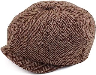 قبعات نيوزبوي للأولاد الصغار قبعة سائق الأطفال قبعة خمر تويد فلات Pageboy القبعات 1-4 Y