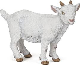 Papo White Kid Goat Figure, Multicolor
