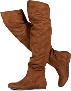 97b62a285dc7 Amazon.com: Brown - Over-the-Knee / Boots: Clothing, Shoes & Jewelry