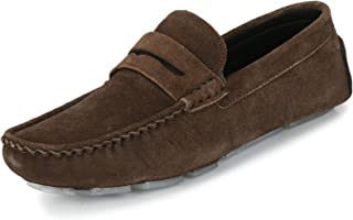 Knoos Men's Genuine Leather Driving Loafers