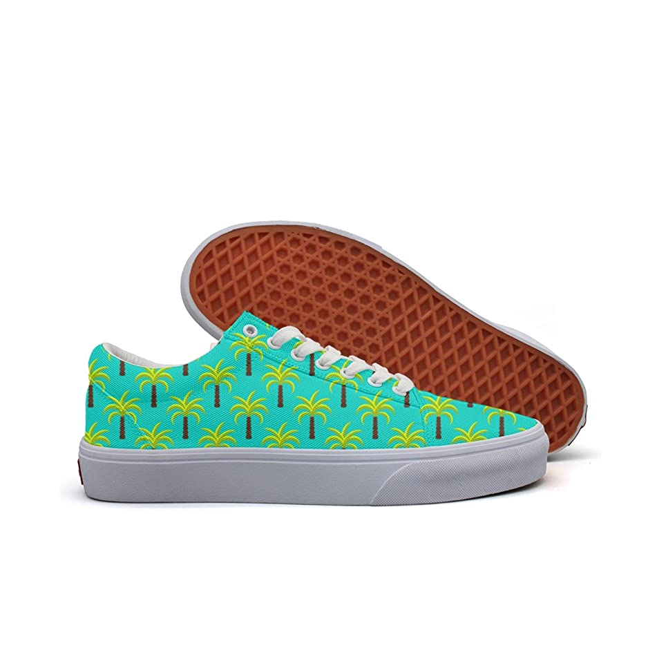 Tropic Palm Trees Women's Casual Shoes Sneakers Slip-On Lo-Top Cute Original