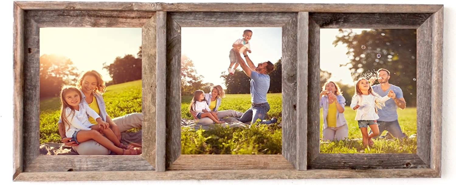 BarnwoodUSA Signature Collage Sale Special Price Frame - Genuine 100% 5 ☆ very popular R Up-Cycled
