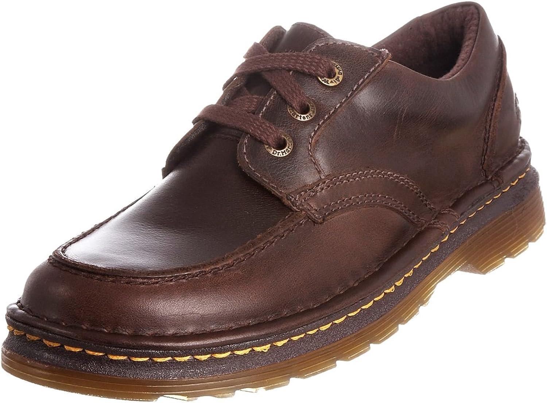Dr. Martens Men's Comfort Casual Moc-Toe Maddock Brown