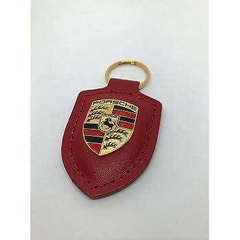 Porsche portachiavi con disco del freno rosso.