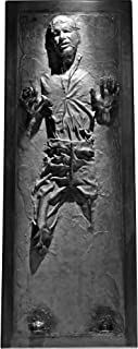 FATHEAD Han Solo in Carbonite - Life-Size Officially Licensed Star Wars Removable Wall Decal Multicolor
