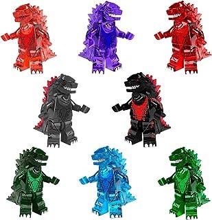 JUSTGIVE New Godzilla Action Figures Set - 8 Godzilla Figures - Heroes from Godzilla Movie - Gift for Boys and Girls