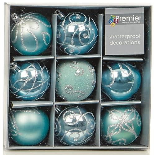 Blue Christmas Decoration Amazon Co Uk