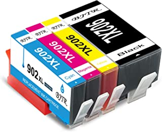 BJTR 4 Pack Compatible Ink Cartridges Replacement for HP 902XL 902 XL, Works with OfficeJet Pro 6978 6968 6958 6962 6960 6...