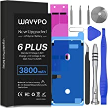 Battery for iPhone 6 Plus, 3800mAh Upgrade Wavypo High...