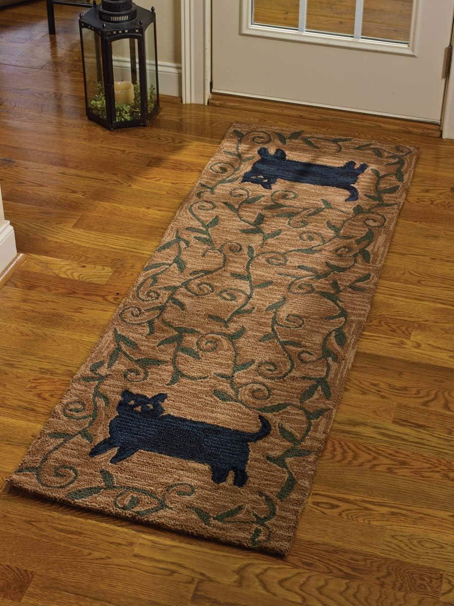Park Designs Cat Hooked Rug Runner x Sale SALE% OFF 24X72 72 Ranking TOP17 24