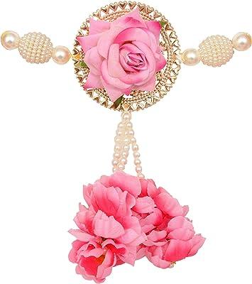 Sharda Creations Decorative 39 Inch Pink Door Hangings Bandhanwar for ation (Set of 1)