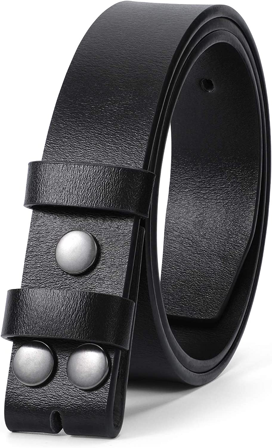 JASGOOD Mens Leather Belt Strap Replace Without Sale Buckle Price reduction Vintage