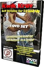 3 DVD Senior Self Defense Set, Complete Krav MAGA Training for 50 and up.