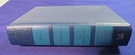 Readers Digest Condensed Books Volume 1, 1991 , Trial, September, The White Puma, Mrs. Pollifax and The Whirling Dervish