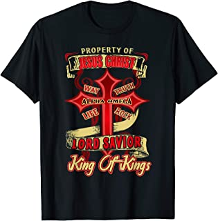 Jesus Christ T shirt - Property Of Jesus Christ Shirts