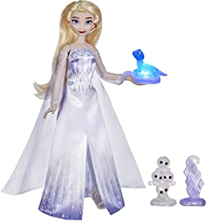 Disney's Frozen 2 Talking Elsa and Friends, Elsa Doll with Over 20 Sounds and Phrases, Fashion Doll Accessories, Toy for K...