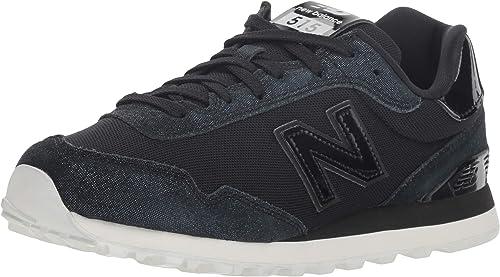 New Balance 515v1 paniers pour Femme, Noir (Noir Noir), 37.5 EU