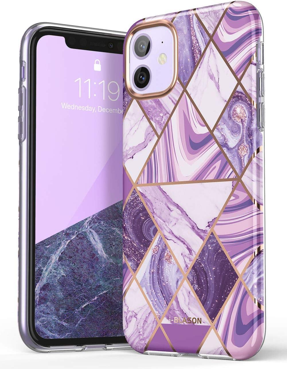 i-Blason Cosmo Lite Series Case for iPhone 11 (2019), Premium Hybrid Slim Protective Bumper Case with Camera Protection, Ameth, 6.1