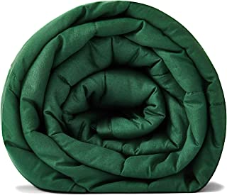 RelaxBlanket-Weighted Heavy Blanket Home (Dark Green, 60''x80'' 25lb)