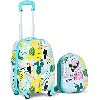 Universal Wheel Luggage Size : 18, Style : H 18//19//20 Multi-Color Trolley case Wulianshangmao Trolley case Cartoon Travel Trolley case