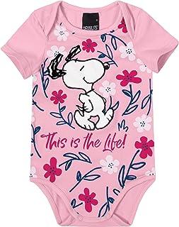 Body Snoopy® Em Cotton Malwee Kids, Rosa Claro, criança-unissex, G