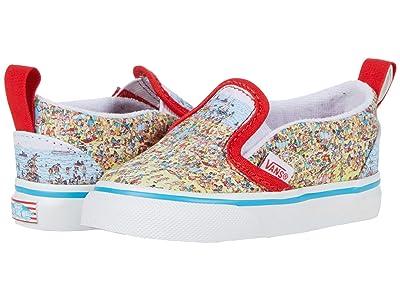 Vans Kids Slip-On V (Infant/Toddler) ( Kids Shoes