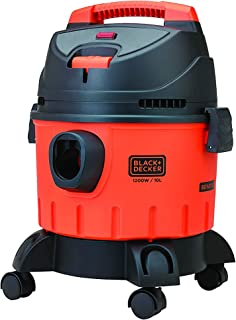 BLACK+DECKER WDBD10 10-Litre, 1200 Watt , 16 KPa High Suction Wet and Dry Vacuum Cleaner and Blower with HEPA Filter and R...