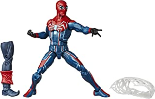 Hasbro Marvel Spider-Man Legends Series 6-inch Collectible Action Figure Velocity Suit Spider-Man Toy, With Build-A-Figure...