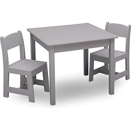 IKEA L/ätt ChildrenS Table and 2 Chairs Pine White
