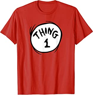 Thing 1 Emblem RED T-shirt T-Shirt