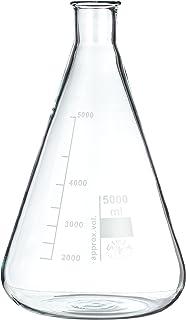NeoLab E-1082 Erlenmeyer-kolf met nauwe hals, 5000 ml