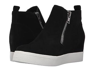 Steve Madden Wedgie Sneaker (Black Suede) Women