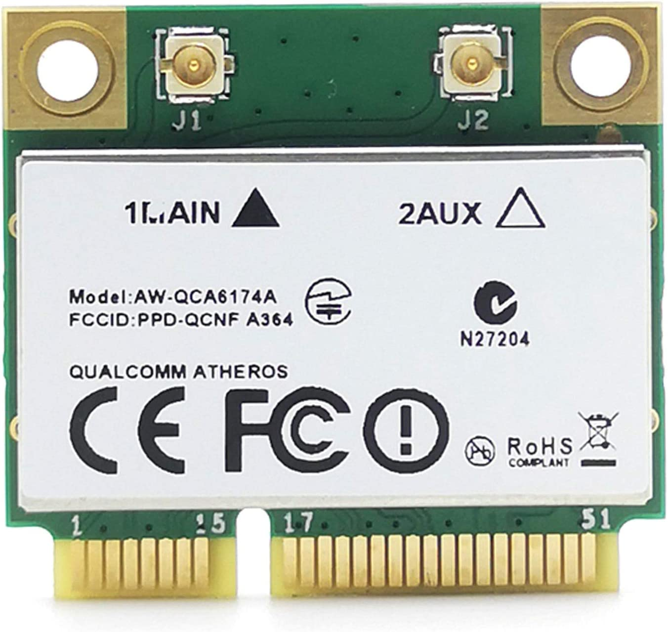 YHJIC sold out Atheros QCA6174 1200M 2.4G 5G Networ PCIE Our shop most popular Dual Frequency