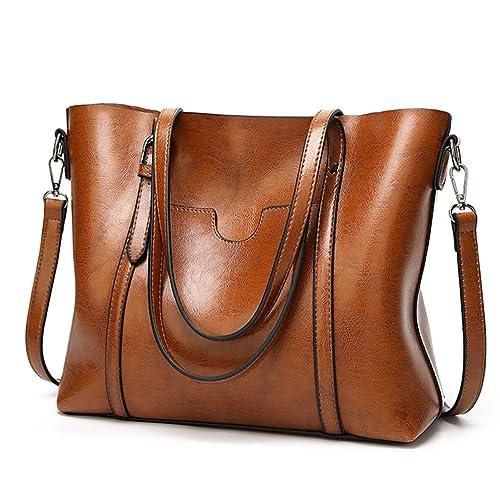 LoZoDo Women Top Handle Satchel Handbags Shoulder Bag Tote Purse 95fedc4adac46